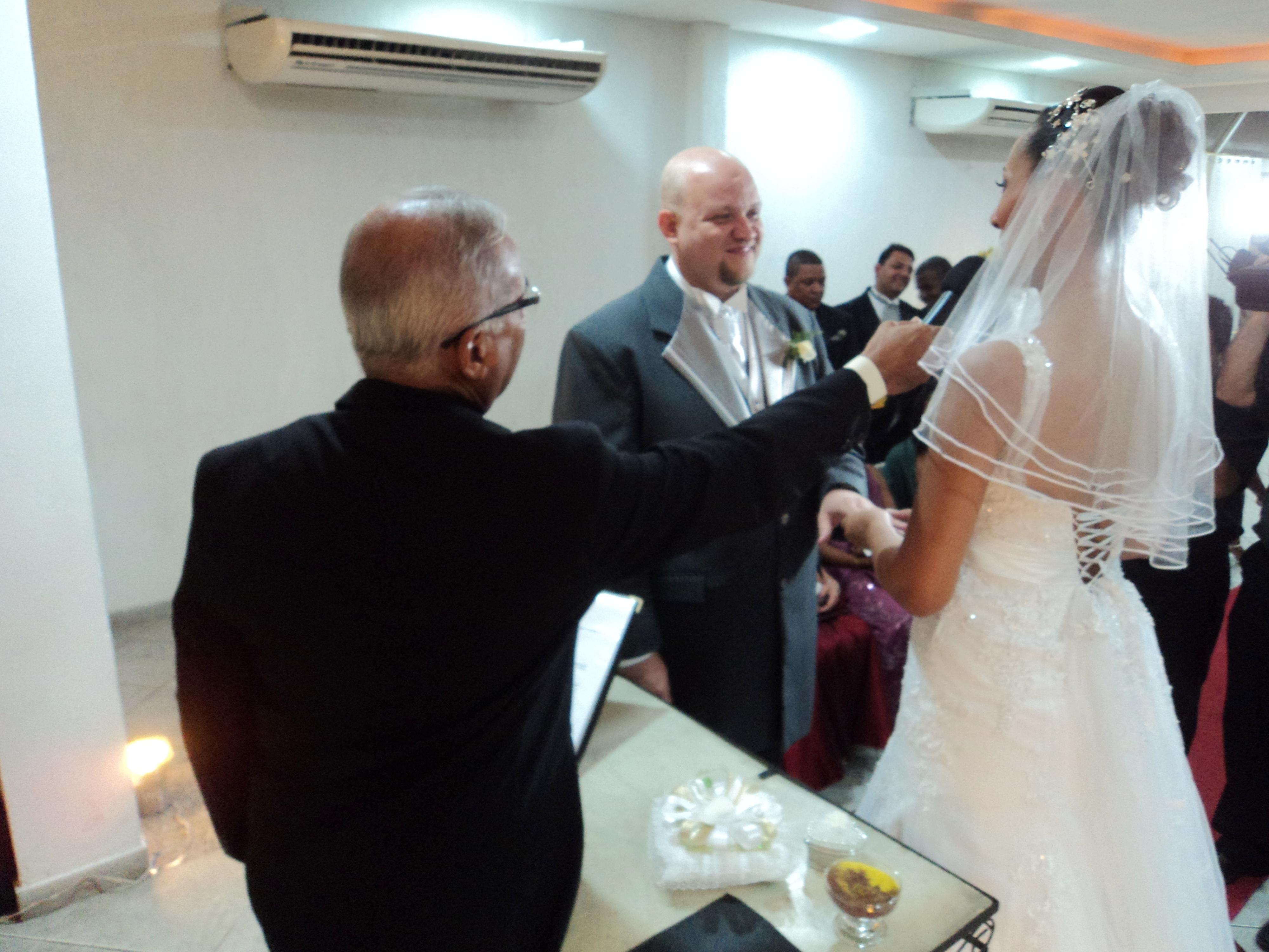 foto cerimônia Luiz e Érica