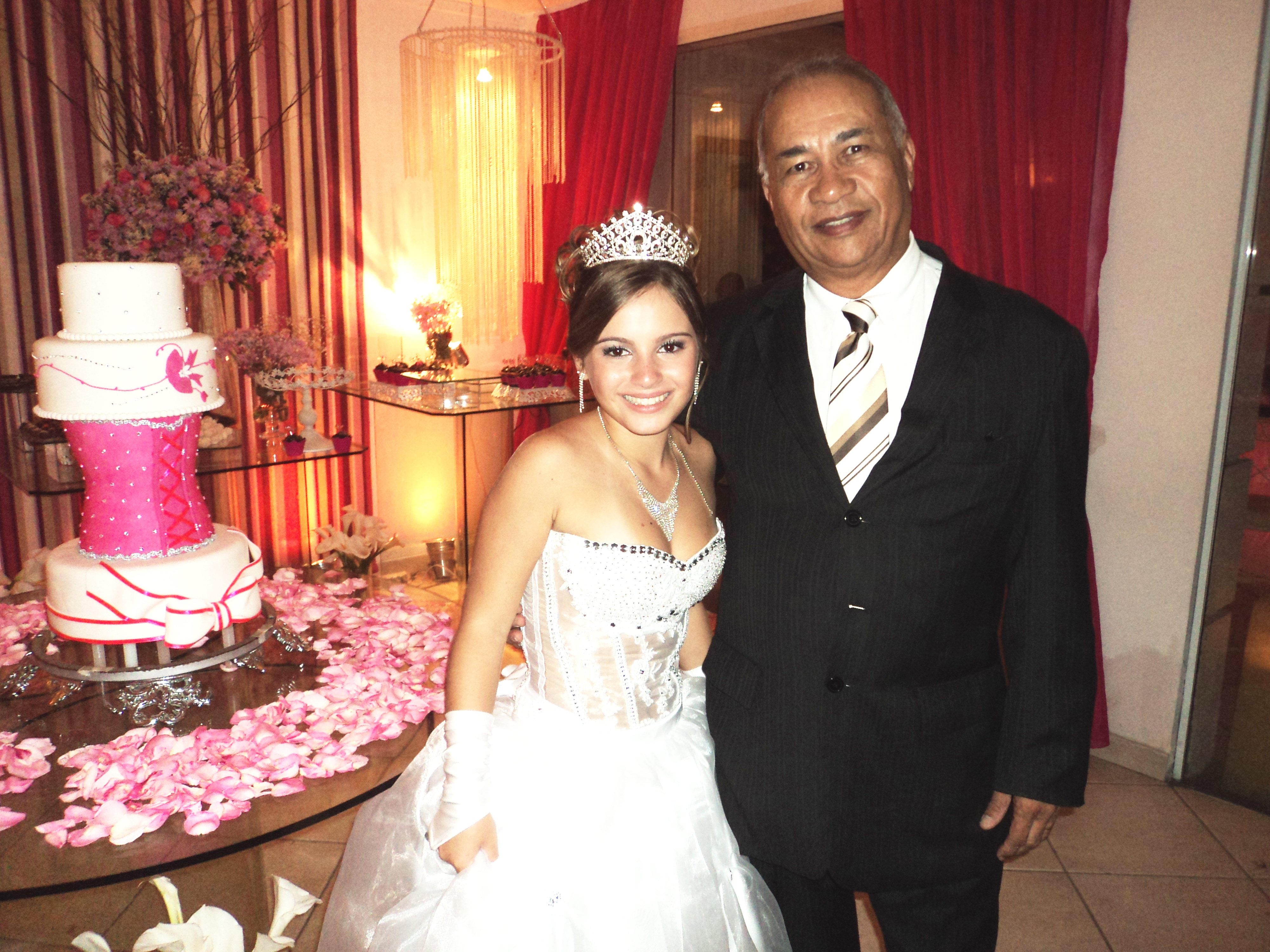 foto debutante Yanes com Túlio de Pinho, 2.5.14