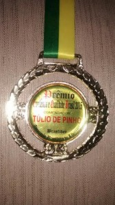 foto medalha do premio, 19.11.15