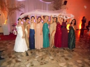 foto boa da noiva com suas madrinhas, 16.7.16