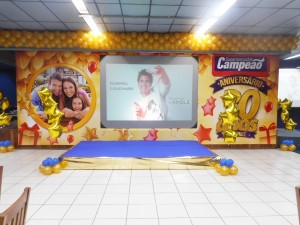 foto palco Supermercados Campeão, 14.7.16