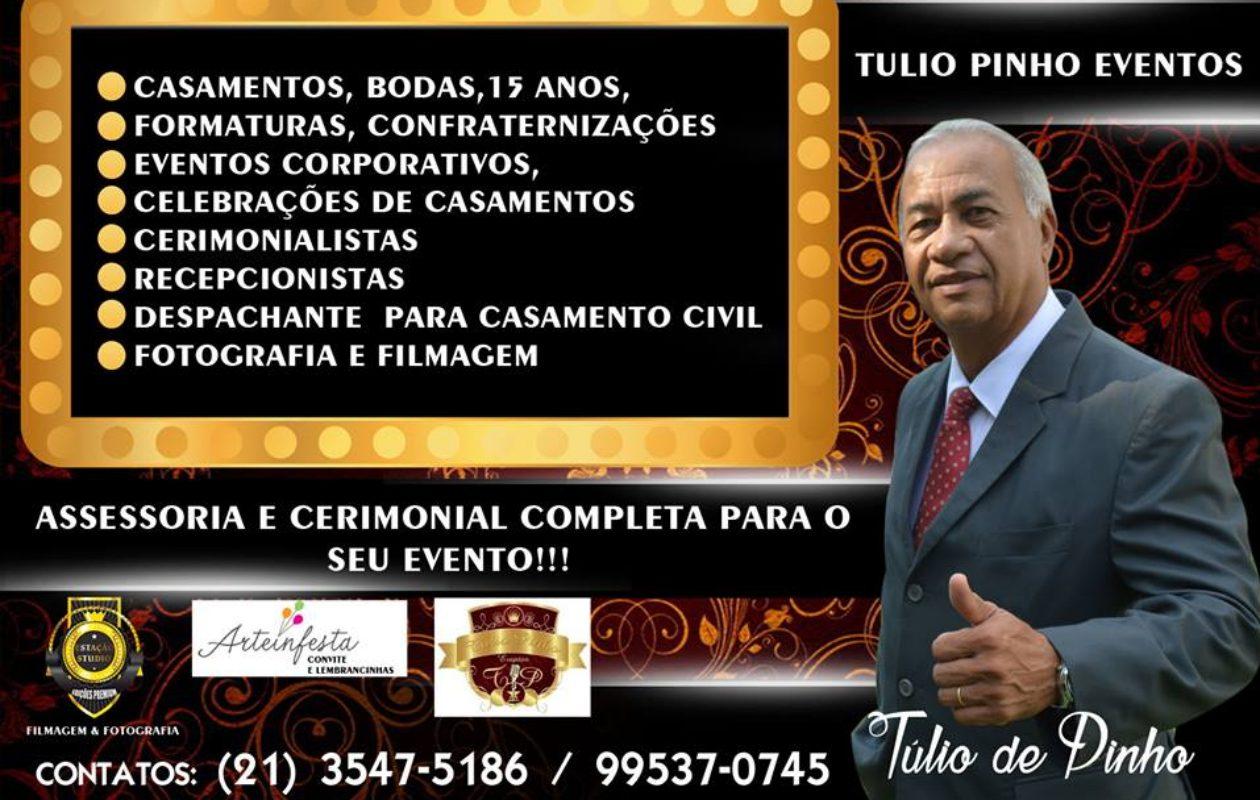 TÚLIO  DE PINHO EVENTOS