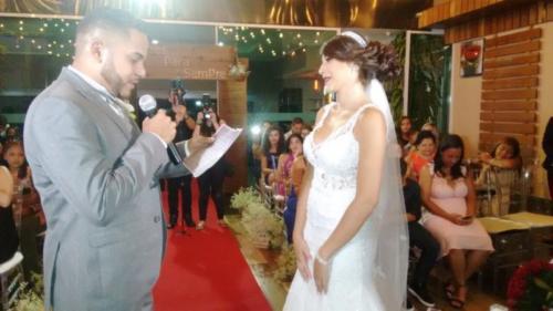 foto do momento dos votos noivo,19.1.18