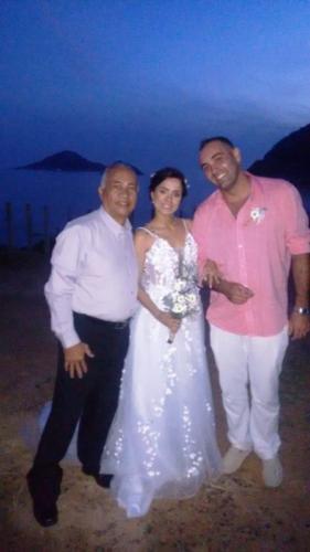foto eu com os noivos,12.6.18