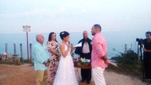 foto momento dos votos da noiva,12.6.18