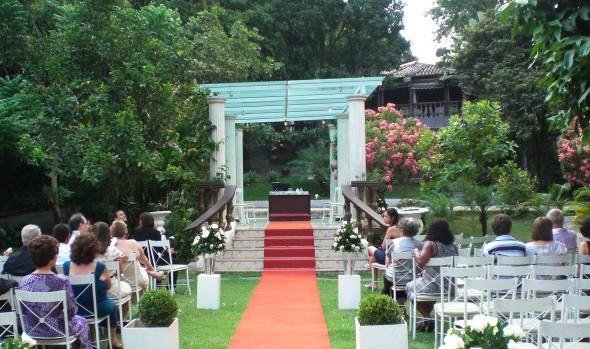 Local de cerimônia no sitio