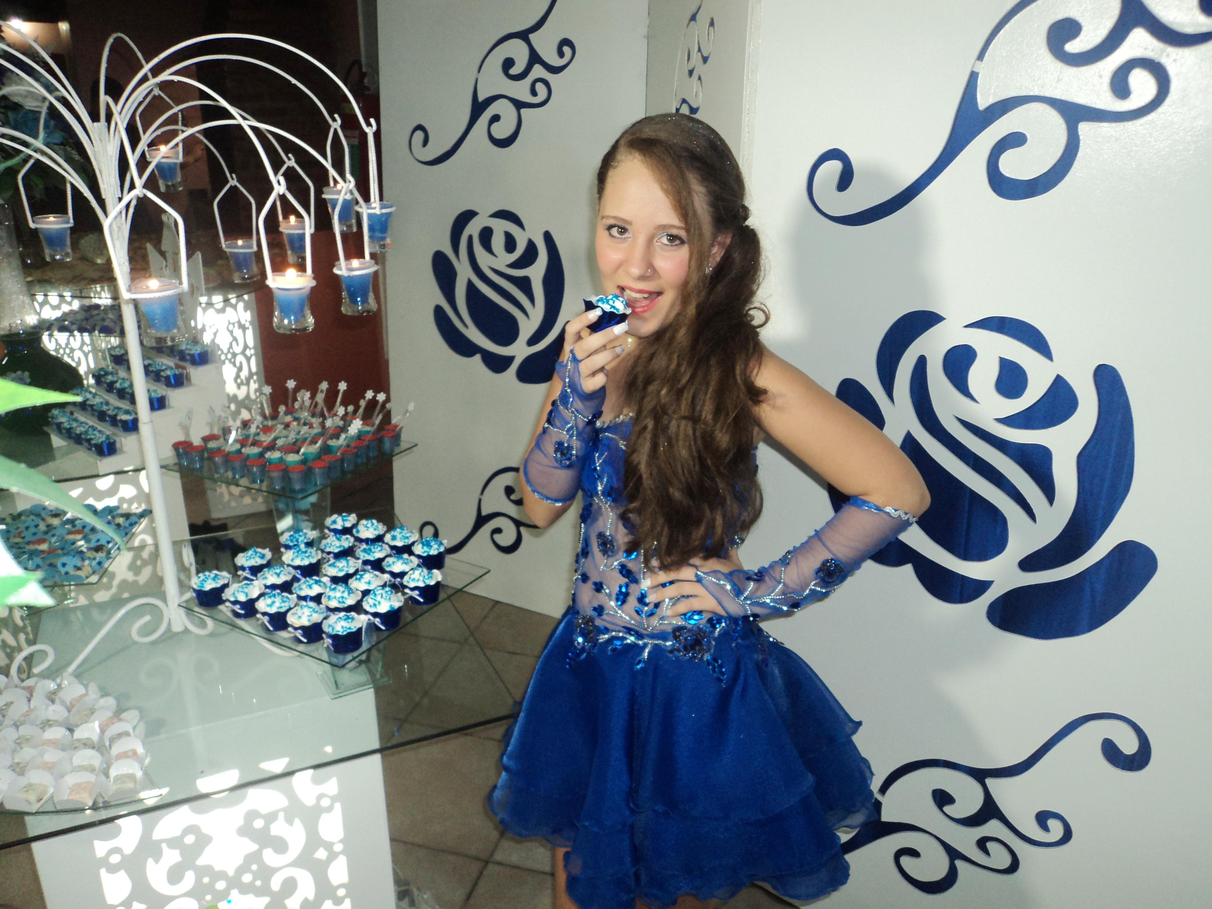 Foto da linda debutante Mariane. Foto especial para  nosso site.
