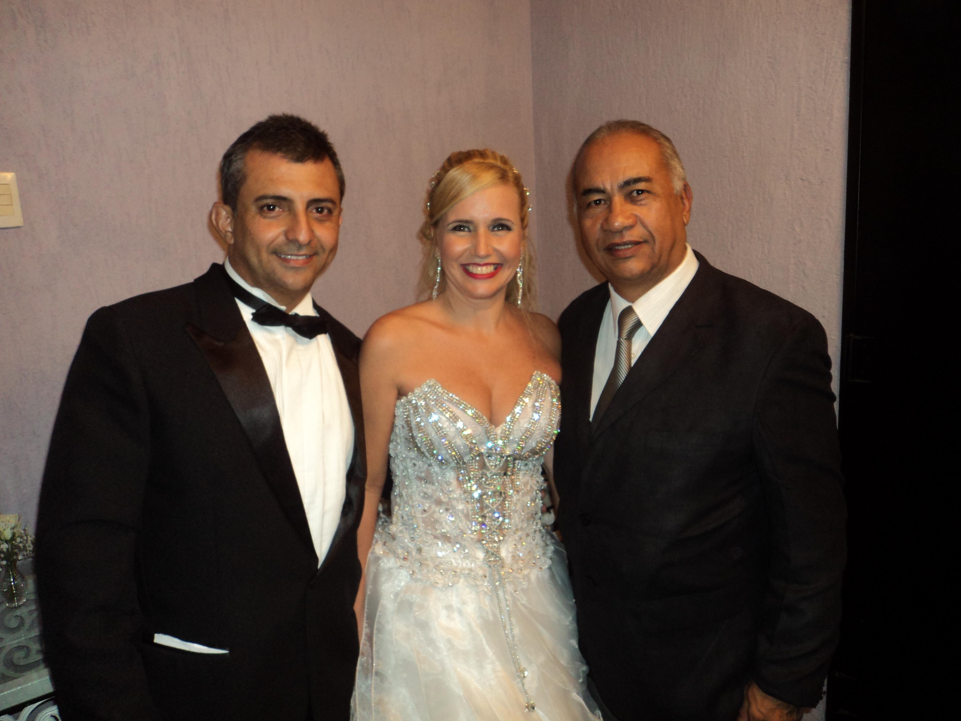 foto Túlio com casal bodas de cristal