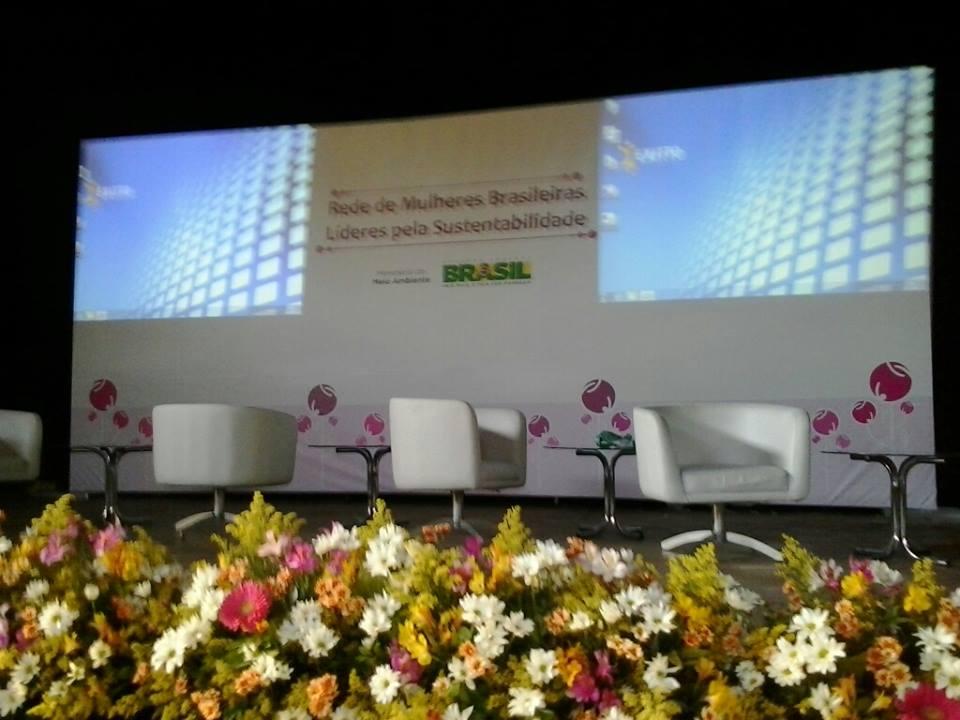Foto do palco do evento Espaço Tom Jobim
