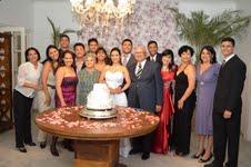 foto Lilian com sua família