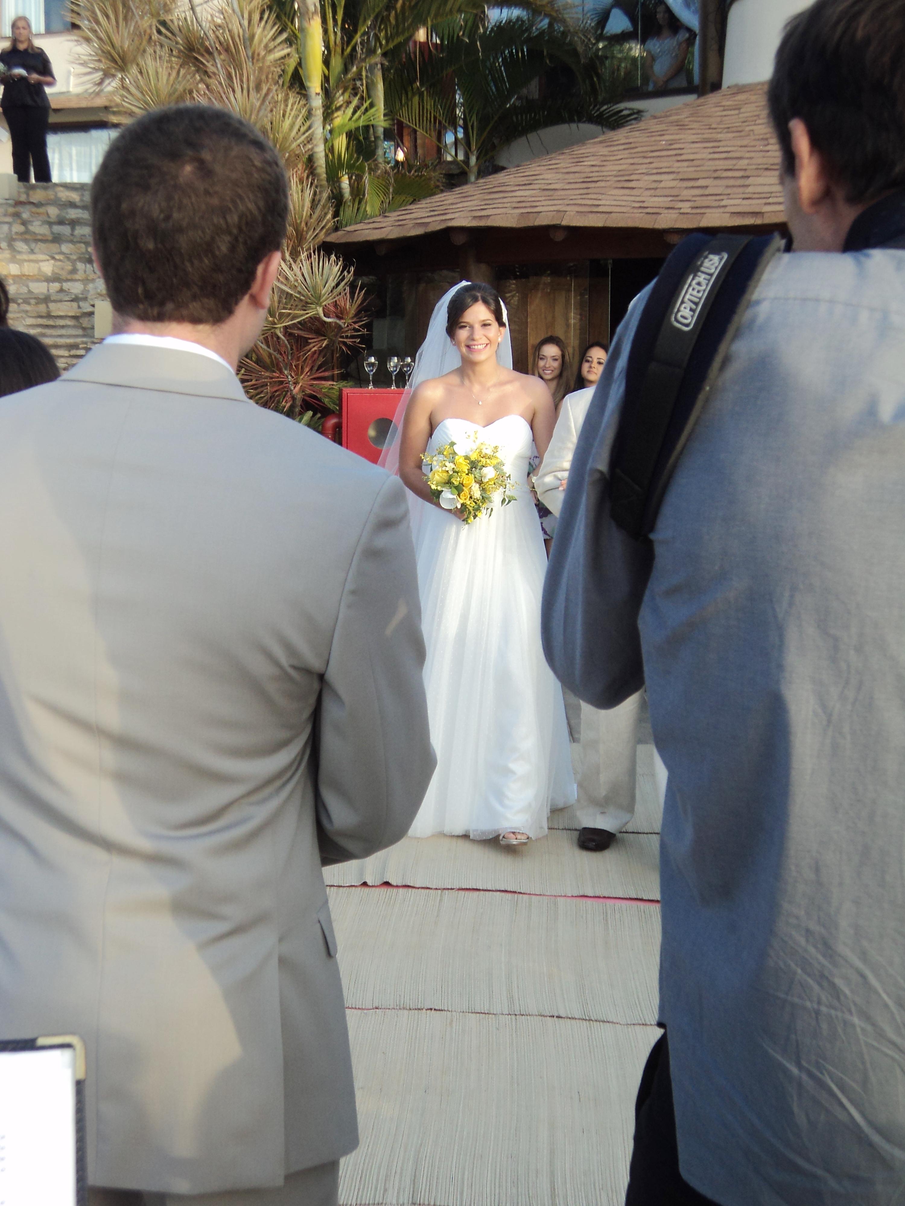 Fotos da cerimônia em  Búzios casal Joseph e Carol 7.9.13