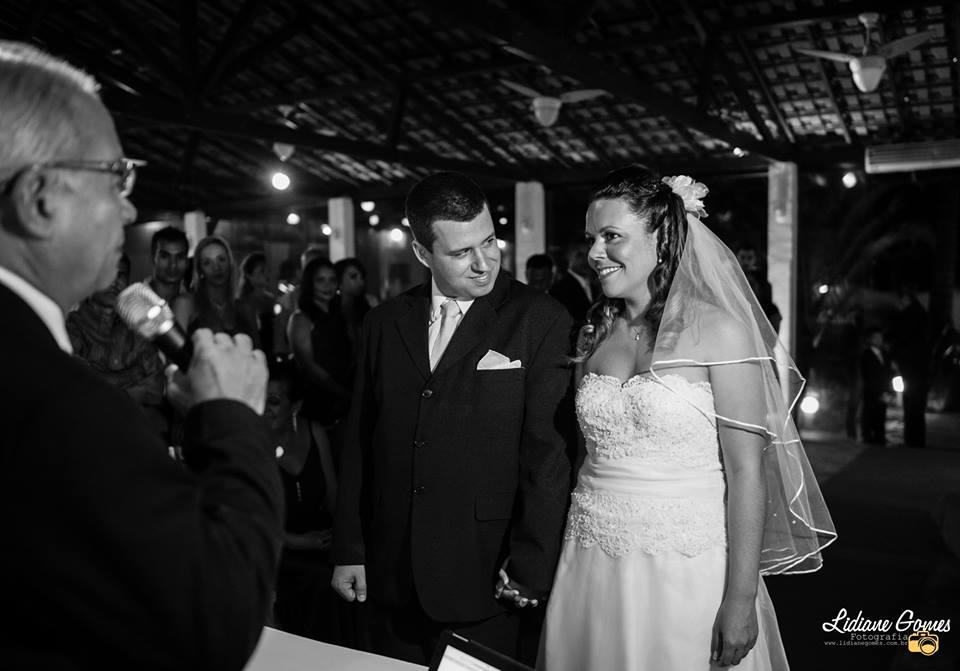 foto cerimonia de casamento de Carlos Alberto e Priscilla