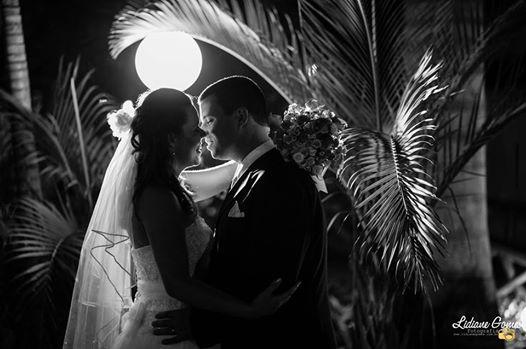 foto do casal Carlos Alberto e Priscilla