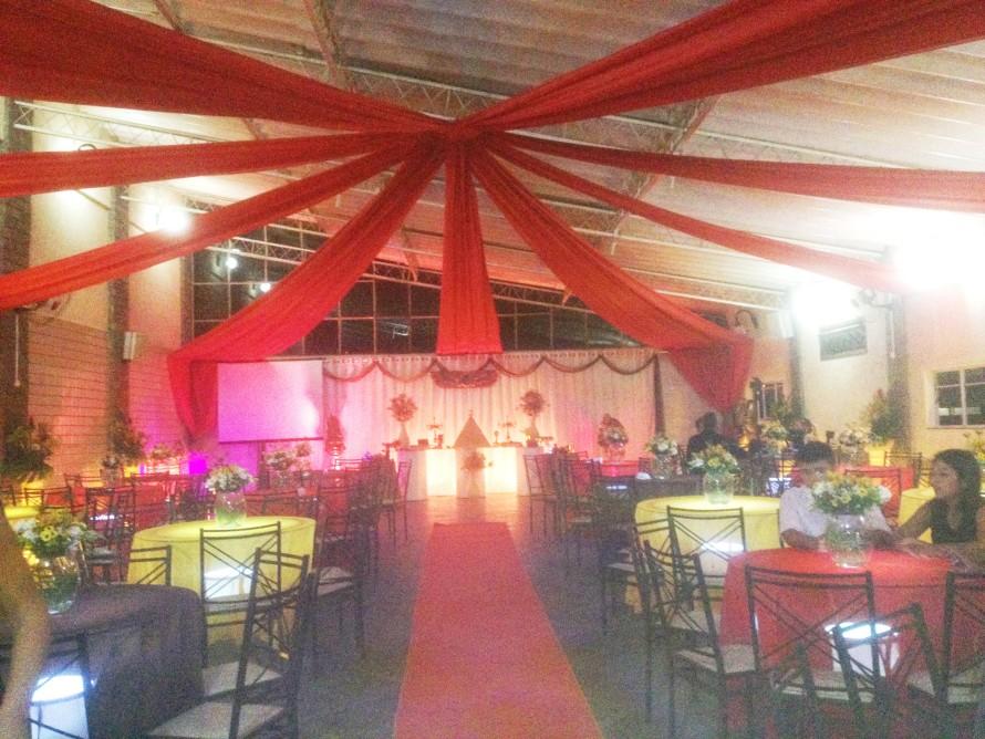 foto do salão de festas West Hall