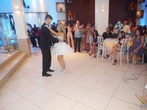 foto coreografia Leticia Pereira com seu principe Daniel, 28.8.15