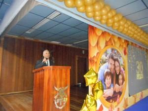 foto eu apresentando evento BGA, 14.7.16