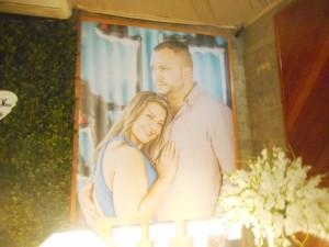 Foto banner dos noivos.
