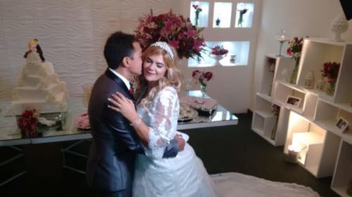foto dos noivos Tarcila e Keirin,23.6.18