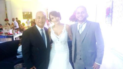 foto eu com noivos Paulo Roberto e Layla,19.1.18