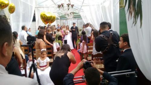 foto lá vem a noiva,4.2.18, Mansão Valqueire
